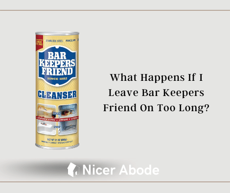 bar keepers friend left on too long